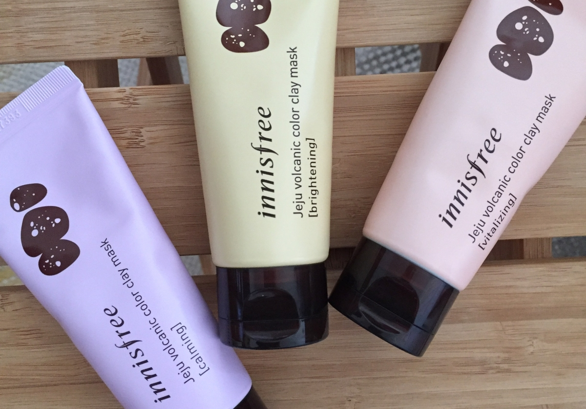 Color Clay Innisfree Jeju Volcanic Masks Product Review Mask Refining 70ml Calming Brightening